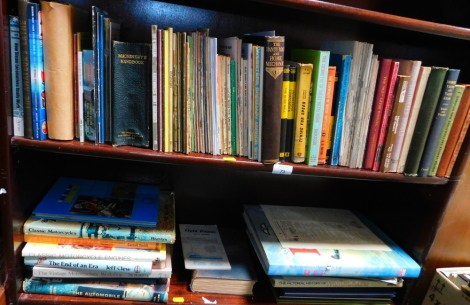 Books: Motoring Interest, including motorcycling mechanics and machinery, engineering, etc. (2 shelves)