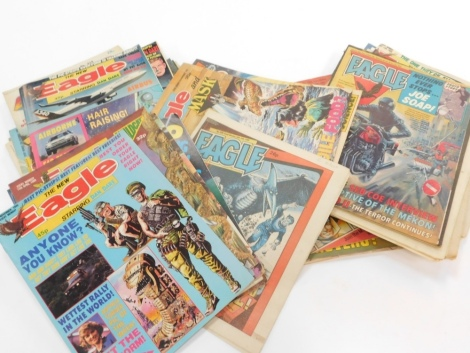 Pannapictagraphy, various comics, Eagle, The New Eagle, Dan Dare, various others similar, Mask, etc. (a quantity)