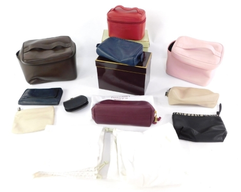 Various Penhaligon's items, travel bags, wash bags, cases, other purses, bags, some partially boxed. (a quantity)