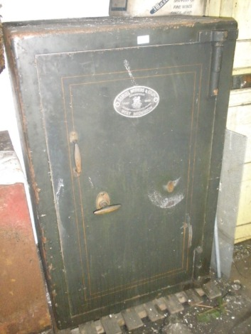 A large Withers cast iron safe.