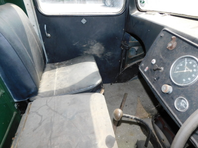 A 1955 Ford Thames SWB lorry, registration VSV 489, twin axle historic vehicle with boarded flat bed, green, first or re-register date March 1986 after restoration project, odometer reading 8,664, tax expired 1st April 1997, with V5 present. - 7