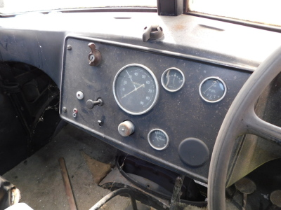 A 1955 Ford Thames SWB lorry, registration VSV 489, twin axle historic vehicle with boarded flat bed, green, first or re-register date March 1986 after restoration project, odometer reading 8,664, tax expired 1st April 1997, with V5 present. - 8