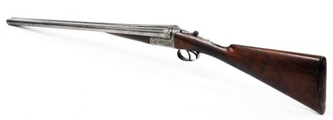 A J Carr and Son's of Birmingham double barrel 12 bore side by side shotgun, serial number 24182. NB. A current valid Shotgun Certificate will be required to view and bid for this lot. The lot is to be sold BY TENDER with final bids to be submitted by 1