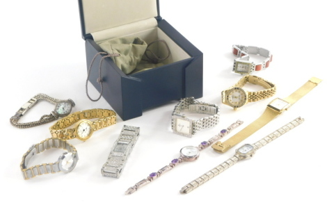 A group of fashion watches, to include Bilyfer, Skagen, Gianni Vecci, Vicroy and others.