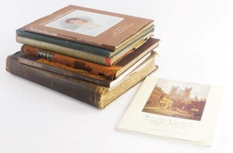 A collection of books relating to Victorian art and artists, to include Vassall-Adams (Rory) a Victorian Watercolour, Pre- RaphaelitePainter, Victorian Artists, etc. (quantity)