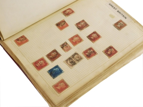 A collection of 19th/early 20thC British and Commonwealth stamps, to include Ceylon, Canada, Bermuda, Australia.