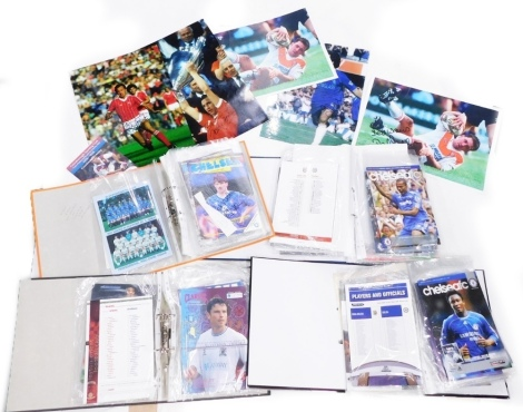 A collection of Chelsea Football Club football programmes, predominantly from the late 2000's. for home and away, to include Hull City v Chelsea 2008, Rovers v Chelsea, 9th November 2008, etc. (1 box)
