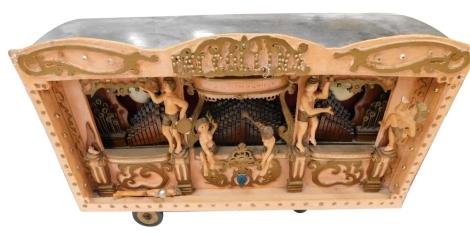 A working model of a fairground organ, Pat Collins Mammoth Marenghi organ (AF), 51cm W.